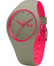 Ice-Watch 001497 Ice duo khaki siliconen band horloge