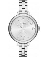Marc Jacobs MBM3362 Ladies Sally verzilverde stalen armband horloge