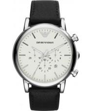 Emporio Armani AR1807 Mens klassiek zwart chronograafhorloge