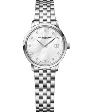 Raymond Weil 5988-ST-97081 Ladies toccata zilver staal Diamond Watch