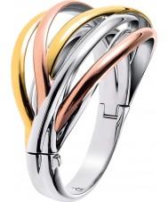 Calvin Klein KJ1RDD30010S Ladies scherpe driekleurige mix armband