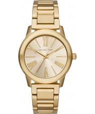 Michael Kors MK3490 Ladies Hartman gouden stalen armband horloge