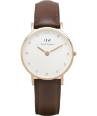 Daniel Wellington DW00100059 Ladies classy st mawes 26mm rose gouden horloge