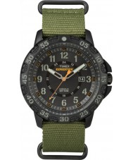 Timex TW4B03600 Mens expeditie gallatin groen nylon band horloge