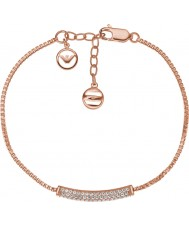 Emporio Armani EG3260221 Ladies Stelle pure pave rose goud sterling zilveren armband