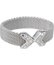 Skagen JRS0015S8 Ladies charlotte zachte mesh ring - formaat q