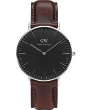 Daniel Wellington DW00100143 Klassiek zwart bristol 36mm horloge