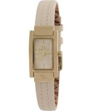 Radley RY2050 Ladies gestikt crème lederen band horloge