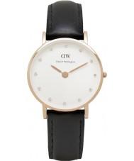 Daniel Wellington DW00100060 Ladies classy Sheffield 26mm rose gouden horloge