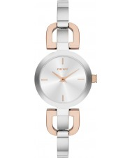 DKNY NY2137 Ladies Reade two tone horloge