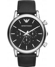 Emporio Armani AR1828 Heren Classic chronograaf zwart horloge