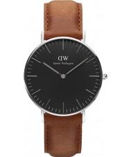 Daniel Wellington DW00100144 Klassiek zwart Durham 36mm horloge