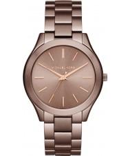 Michael Kors MK3418 Dames slim runway-horloge