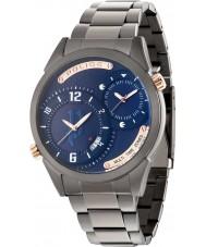 Police 14540JSU-03M Mens dugite gunmetal stalen armband horloge