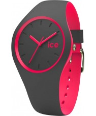Ice-Watch 001501 Ice duo antraciet siliconen band horloge