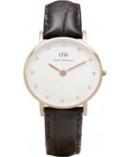 Daniel Wellington DW00100061 Ladies classy york 26mm rose gouden horloge