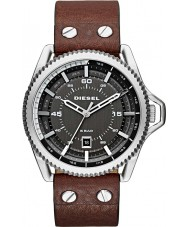 Diesel DZ1716 Mens rolkooi donker bruin lederen band horloge