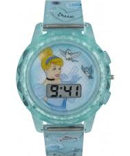 Disney Princess PN1334 Meisjes prinses cinderella horloge met blauwe plastic bandje