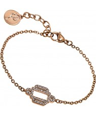 Edblad 31630028 Ladies elvira rose goud vergulde armband