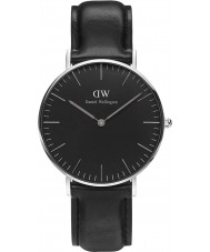 Daniel Wellington DW00100145 Klassiek zwart Sheffield 36mm horloge