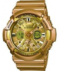 Casio GA-200GD-9AER Mens G-SHOCK wereldtijd gouden hars riem horloge