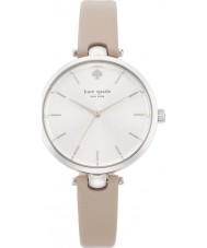 Kate Spade New York 1YRU0813 Ladies holland beige lederen band horloge
