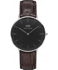 Daniel Wellington DW00100146 Klassiek zwart york 36mm horloge
