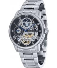 Thomas Earnshaw ES-8006-11 Mens lengte zilveren armband automatisch horloge