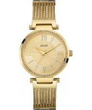 Guess W0638L2 Ladies soho vergulde armband horloge