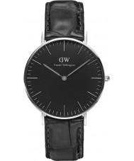 Daniel Wellington DW00100147 Klassiek zwart lezen 36mm horloge