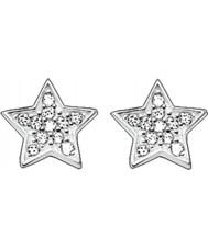 Thomas Sabo H1868-051-14 Ladies zirconia effenen ster zilveren oorknopjes