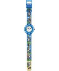 Flik Flak FBNP065 Jongens Gidro multicolour horloge