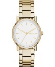 DKNY NY2343 Ladies soho gouden stalen armband horloge