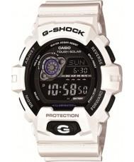 Casio GR-8900A-7ER Mens G-SHOCK wereldtijd wit op zonne-energie horloge