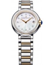 Maurice Lacroix FA1003-PVP23-170 Ladies Fiaba round two tone horloge met diamanten