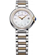 Maurice Lacroix FA1003-PVP23-170 Ladies Fiaba round two tone horloge met diamanten