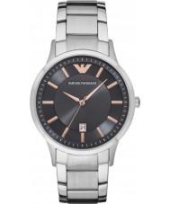 Emporio Armani AR2514 Mens kleden zilveren stalen armband horloge