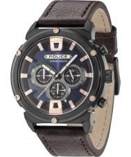 Police 15047JSB-03 Mens armor ii horloge