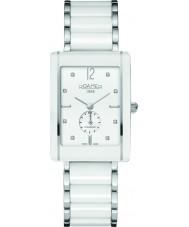 Roamer 690855-41-29-60 CERALINE saphira vierkante witte keramische armband horloge