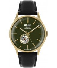 Henry London HL42-AS-0282 Mens erfgoed horloge