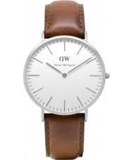 Daniel Wellington DW00100021 Mens klassieke 40mm st mawes zilveren horloge
