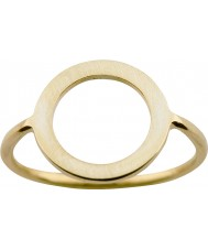Nordahl Jewellery 125211-58 Dames goud vergulde ring - formaat q