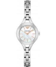 Emporio Armani AR7425 Dames jurk zilveren stalen armband horloge