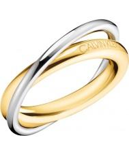 Calvin Klein Dames dubbele ring