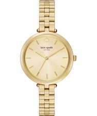 Kate Spade New York 1YRU0858 Ladies holland vergulde armband horloge