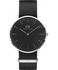 Daniel Wellington DW00100149 Klassiek zwart Cornwall 40mm horloge