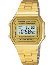 Casio A168WG-9EF Verzameling klassieke vergulde digitaal horloge