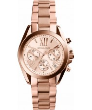 Michael Kors MK5799 Ladies mini bradshaw rose goud chronograafhorloge