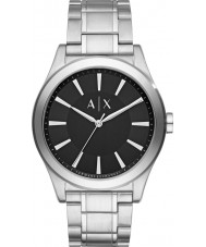 Armani Exchange AX2320 Mannen kleding zilveren stalen armband horloge