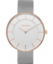 Skagen SKW2583 Ladies gitte zilveren stalen gaas armband horloge